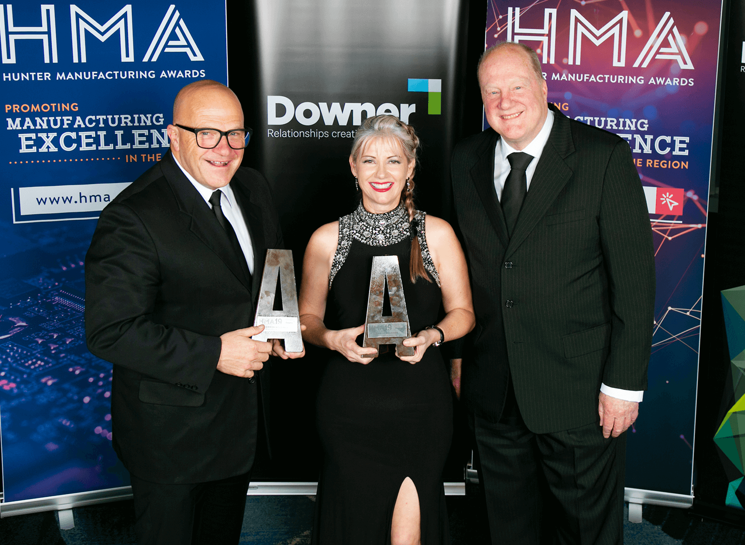 Sirron scores double win at Hunter Manufacturing Awards!